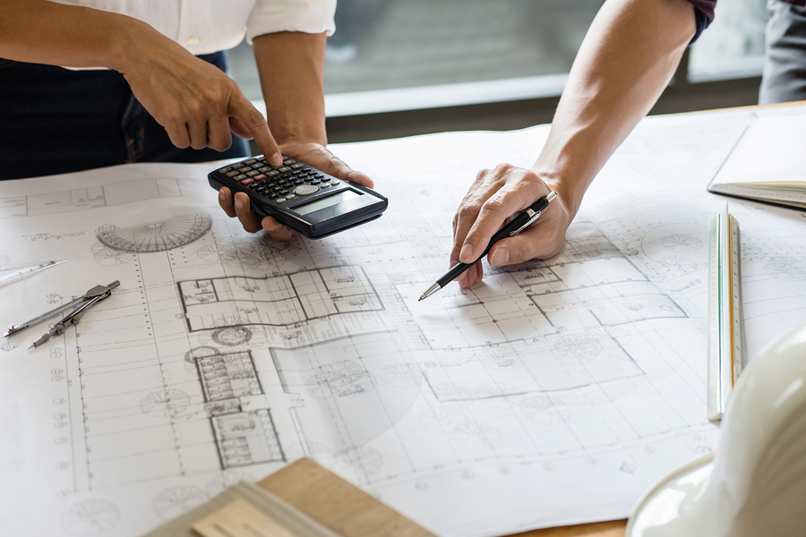 Image Of Engineer Or Architect Partner Meeting For Working With